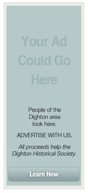Advertise on the Dighton Historical Society Page